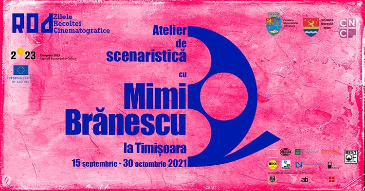 ROD SCRIPT cu Mimi Brănescu: hai la un atelier de scenaristică!