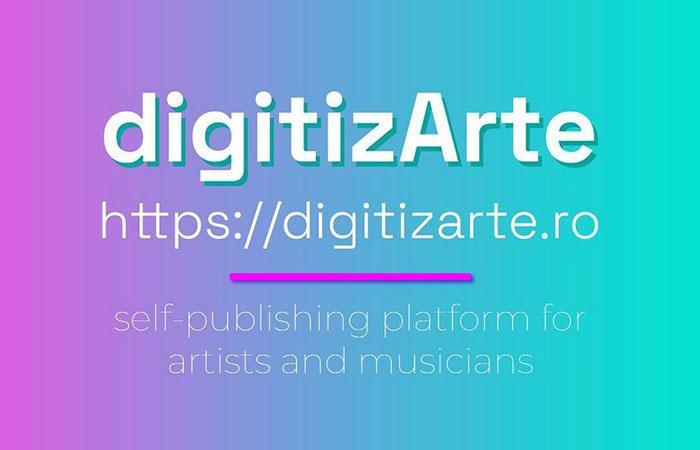 digitizArte, platformă interactivă pentru tinerii creativi