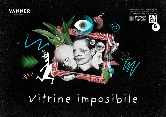 Vitrine Imposibile, instalație performativă în trei galerii din Capitală