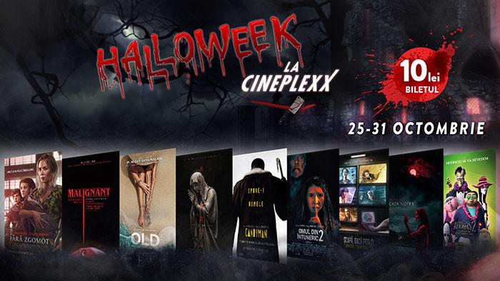 Halloween de 10 la Cineplexx! Ce surprize vă așteaptă în cinematografe