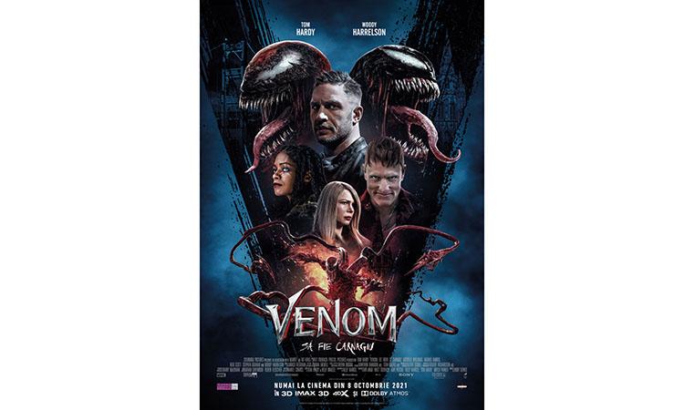 """Avanpremierele pentru """"Venom: Să fie carnagiu"""" încep pe 8 octombrie"""