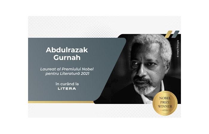 Abdulrazak Gurnah, laureatul Nobelului pentru literatură din 2021, va fi publicat la Editura Litera