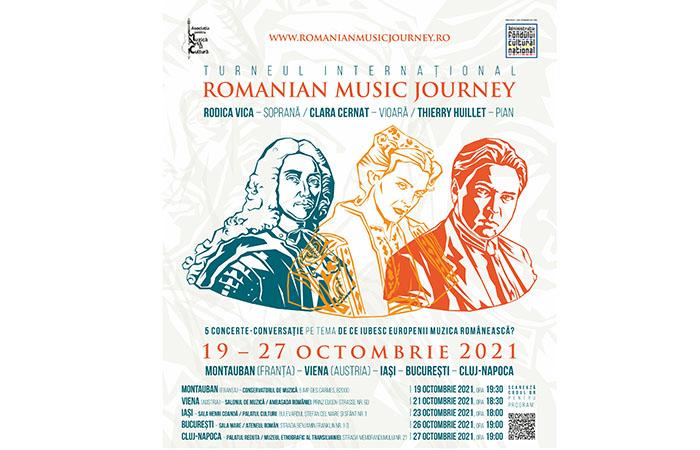 """""""Romanian Music Journey"""", turneu în țară și în străinătate"""